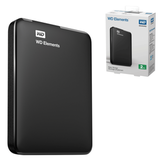 "���� ������� ������� WESTERN DIGITAL Elements Portable, 500 Gb, 2,5"", USB 3.0, ������"