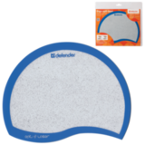 Коврик для мыши DEFENDER Ergo opti-laser, синий, 215×165×1,2 мм, пвх + полиуритан