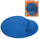 Коврик для мыши DEFENDER Easy Work, синий, полиуретан+покрытие лайкра, 260×225×5 мм, синий