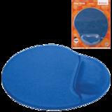 Коврик для мыши DEFENDER Easy Work, синий, 260×225×5 мм, полиуретан + покрытие лайкра