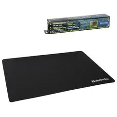 Коврик для мыши DEFENDER GP-700 Thor, полиуретан+лайкра, 350×260×3 мм, черный
