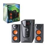 Колонки компьютерные DEFENDER Avante X45 Pro, 2.1, 45 Вт, MP3, SD/<wbr/>US, дерево, черные