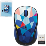 ���� ������������ ���������� LOGITECH M238 BLUE FACETS, USB, 2 ������ + 1������-������, �����