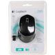 Мышь беспроводная оптическая LOGITECH MOUSE M280, USB, 2 кнопки + 1 колесо-кнопка, черный