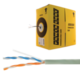 Кабель витая пара POWER CUBE UTP, Cat 5Е, одножильный, 2×2×0,51 мм, медь, бухта 305 м, PC-UPC-5002E-SO