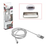Кабель USB 2.0-Apple Lightning, 1 м, DEFENDER, для подключения Apple IPhone (IPad)