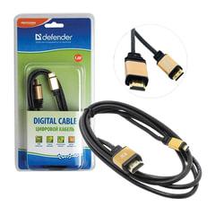 Кабель HDMI-mini HDMI, 1,8 м, DEFENDER, M-M, для передачи цифрового аудио-видео