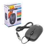 Мышь проводная оптическая DEFENDER Datum MM-010, USB, 3 кнопки, черная