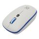 Набор беспроводной DEFENDER Skyline895, клавиатура, мышь 2 кнопки + 1 колесо + 1 dpi, белый/<wbr/>голубой