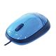 Мышь проводная оптическая LOGITECH M105, 2 кнопки + 1 колесо-кнопка, цвет синий