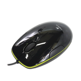 Мышь проводная лазерная LOGITECH M150, M150, 2 кнопки + 1 колесо-кнопка, цвет черный/<wbr/>зеленый