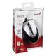 Мышь проводная оптическая GENIUS NetScroll 100 V2, USB, 2 кнопки + 1 колесо-кнопка, чёрно-серебрянная