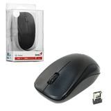 Мышь беспроводная оптическая GENIUS NX-7000, USB, 2 кнопки + 1 колесо-кнопка, чёрный