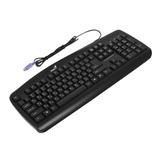 Клавиатура проводная GENIUS KB-110, PS/<wbr/>2, 104 клавиши, черная