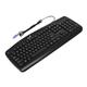 ���������� ��������� GENIUS KB-110, PS2, 104 �������, ������