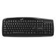 Клавиатура проводная GENIUS KB-110, PS2, 104 клавиши, черный