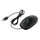 Набор проводной GENIUS KM-100, клавиатура, мышь 2 кнопки + 1 колесо-кнопка, черный