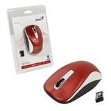 Мышь беспроводная оптическая GENIUS NX-7010, 2 кнопки + 1 колесо-кнопка, бело-красный