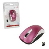 Мышь беспроводная оптическая GENIUS NX-7010, 2 кнопки + 1 колесо-кнопка, пурпурный