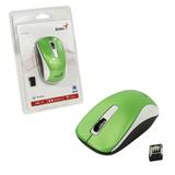 Мышь беспроводная оптическая GENIUS NX-7010, 2 кнопки + 1 колесо-кнопка, зеленый