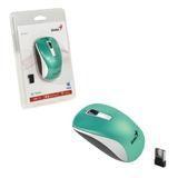 Мышь беспроводная оптическая GENIUS NX-7010, 2 кнопки + 1 колесо-кнопка, бирюзовый