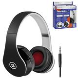 Наушники с микрофоном (гарнитура) DEFENDER FreeMotion B550, Bluetooth, беспроводная, черная