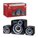 Колонки DEFENDER Z5, 2.1, 16 Вт, FM, SD/<wbr/>USB, пластик, черные