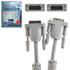 Кабель DVI-D, 3 м, BELSIS, 2 фильтра, для цифрового видео, до 2048×1536 пикселей, BW1471