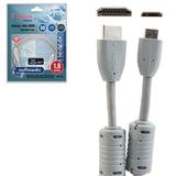 Кабель HDMI-mini HDMI, 1,8 м, BELSIS, M-M, 2 фильтра, для передачи цифрового аудио-видео, BW1454