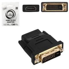 Переходник HDMI-DVI, CABLEXPERT, F-M, для передачи цифрового аудио-видео, A-HDMI-DVI-2