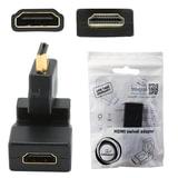 Переходник HDMI, CABLEXPERT, F-M, для передачи цифрового аудио-видео, A-HDMI-FFL2