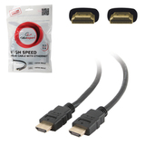 Кабель HDMI, 0,5 м, GEMBIRD, M-M, экранированный, для передачи цифрового аудио-видео, CC-HDMI4-0.5M