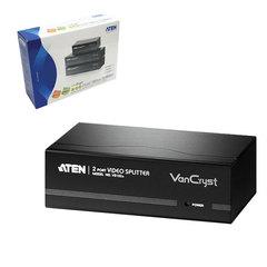 Разветвитель SVGA ATEN, 2-портовый, для передачи аналогового видео, до 2048×1536 пикселей, VS132A