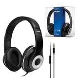 Наушники с микрофоном (гарнитура) с оголовьем SVEN AP-930M, провод 1,3 м, стерео, черные