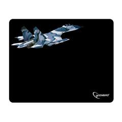 Коврик для мыши GEMBIRD MP-GAME8 «Самолет», ткань+резина, 250×200×3 мм, черный