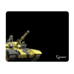 Коврик для мыши GEMBIRD MP-GAME10 «Танк», ткань+резина, 250×200×3 мм, черный