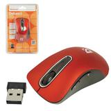 Мышь беспроводная DEFENDER Datum MM-075, USB, 4 кнопки + 1 колесо-кнопка, оптическая, красная