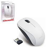 Мышь беспроводная GENIUS NX-7000, USB, 3 кнопки + 1 колесо-кнопка, оптическая, белая