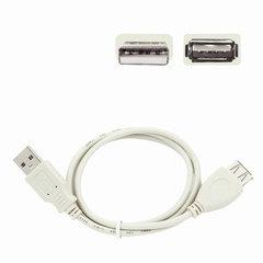 Кабель-удлинитель USB 2.0, 0,75 м, GEMBIRD, M-F, для подключения периферии