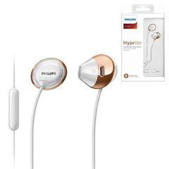 Наушники с микрофоном (гарнитура) PHILIPS SHE4205WT/<wbr/>00, проводные, 1,2 м, стерео, вкладыши, белые