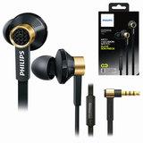 Наушники с микрофоном (гарнитура) PHILIPS TX2BK/<wbr/>00, проводные, 1,2 м, стерео, вкладыши, черные