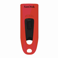 Флэш-диск 32 GB, SANDISK Ultra, USB 3.0, красный