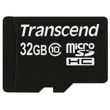 Карта памяти micro SDHC, 32 GB, TRANSCEND, скорость передачи данных 30 МБ/<wbr/>сек (class 10)