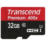 Карта памяти micro SDHC, 32 GB, TRANSCEND, скорость передачи данных 60 МБ/<wbr/>сек (class 10)