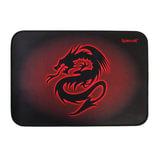 Коврик для мыши DEFENDER Tiamat, резина+покрытие ткань, 350×260×4 мм, черно-красный