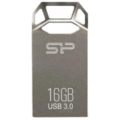 Флэш-диск 16 GB SILICON POWER Jewel J50 USB 3.1, серый