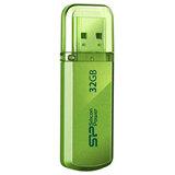 Флэш-диск 32 GB, SILICON POWER 101 USB 2.0, зеленый