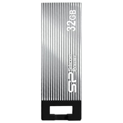 Флэш-диск 32 GB SILICON POWER Touch 835 USB 2.0, серый