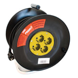 Удлинитель на катушке РАДИСТ РБК16-270-005, 4 розетки с заземлением, 20 м, 3×1,5 мм, 2200 Вт