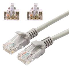 Кабель (патчкорд) UTP 5e категория, RJ-45, 10 м, CABLEXPERT, для подключения по локальной сети LAN